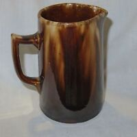 AUSTRALIAN POTTERY / one pint JUG , DRIP GLAZED / KOSTER ?? BENDIGO??