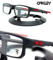 Oakley EYEGLASSES Voltage Ferrari OX8049-0753 Black & Red RX 53MM - 19MM - 137MM