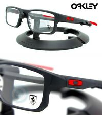 edfc234c56 Oakley EYEGLASSES Voltage Ferrari OX8049-0753 Black   Red RX 53MM - 19MM -  137MM