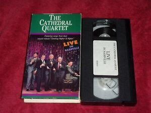 The Cathedral Quartet: Live in Nashville~VHS