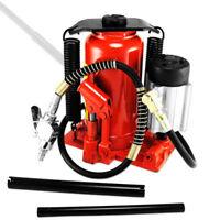 New 12 Ton Air Pneumatic Hydraulic Bottle Jack Automotive Truck Repair Tool