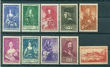 Monaco 1939 - Y & T  n. 185/94 - Princes, princesses et vues de Monaco *