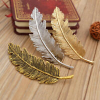 Women Leaf Feather Hair Clip Hairpin Barrette Bobby Pin Hair Jewelry Accessories