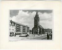 Gotha, Neumarkt, Orig. Silbergelatine- Foto um 1975