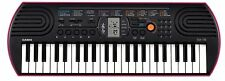 Casio SA-78H2 44 Mini Keys Mini Keyboard(Black/Red)