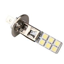 2* H1 12-LED Replacement Headlight  Light Bulbs Bright White 5050 Thin Flat