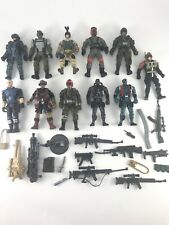 "Mixed Lot of 11 Misc. ~4"" Action Figures + Lanard + Chap Mei, Etc. Parts BO1518"