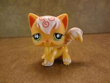 Littlest Pet Shop #511 Angora Cat Kitten Green Eyes Lps