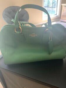 Coach Kelly Green Small Handbag