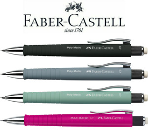 Faber-Castell Poly Matic Mechanical Pencil 0.7mm   All Colours Available