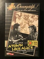 A Town Like Alice Ex-Rental Vintage Big Box VHS Tape English with dutch subs