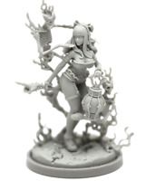 Necromancer Variant Model for Kingdom Death Resin Figure