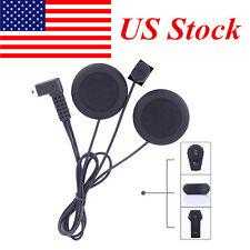 Helmet Headset Mic/Speaker for FDC Bluetooth Intercom Motorcycle Interphone US