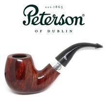 New Peterson Pipe Sherlock Holmes Professor Silver Band & P Lip