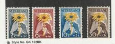 Netherlands, Postage Stamp, #B199-B202 Mint LH, 1949 Flower, JFZ