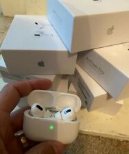 Apple AirPods Pro - White  100% Authentic NEW w/ wireless charging case SEALED