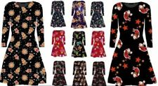 Christmas Winter Plus Size Dresses for Women