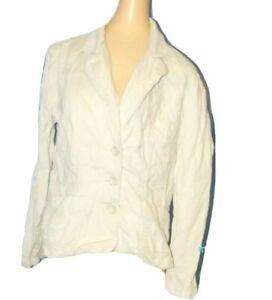 RUE 21 Khaki Cream Velvet Soft CORDUROY Blazer Jacket Top stretch extra large XL