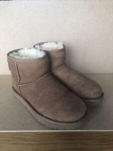 Ugg Womens Classic Mini II Boots - Chestnut UK Size 5.5