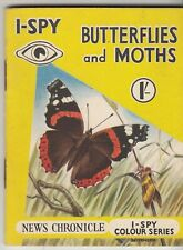 I SPY BOOK -   BUTTERFLIES AND MOTHS