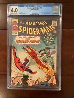 Amazing Spider Man 17 CGC(4.0)2nd Green Goblin: Lee/Ditko creation; Human Torch