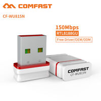 Comfast Mini USB WiFi WLAN 150Mbps Wireless Network Adapter 802.11n/g/b For PC