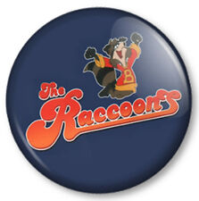 The Raccoons 25mm Pin Button Badge Old School Skool Cartoon Retro Kids TV 1980s
