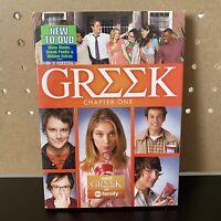 Greek: Season 1, Chapter One (DVD, 2008, 3-Disc Set) + FREE SHIPPING!!