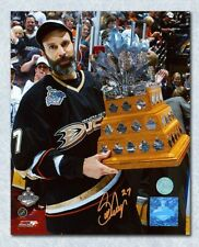 Scott Niedermayer Anaheim Ducks Autographed 2007 Conn Smythe Trophy 8x10 Photo