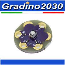 Modulo Lilypad RGB LED TRI COLORE per Arduino