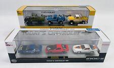 M2 Machines Auto Hauler Chevy Camaro IROC Z & Square Body Truck 3 Packs Walmart