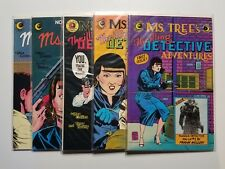 Ms. Tree's Thrilling Detective Adventures #1-10 VF to NM (Eclipse,1983-84) Run!