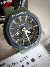Casio G-Shock GA-2110SU-3AER EU 5611 Casioak Green Version 45mm x 11.8mm Thick!