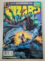 WIZARD COMICS MAGAZINE #87 NOVEMBER 1998 ORIGINAL MARK TEXEIRA COVER ART