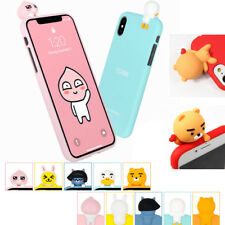 Genuine KAKAO amigos 4D adorable Estuche de TPU para iPhone 11/Galaxy 9 S10 9 LG V40 Note