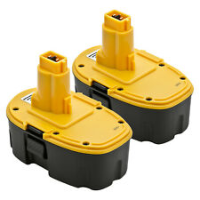 2 New 18V 18 Volt Battery for Dewalt XRP Battery DC9096-2 DC9098 DC9099 DW9096
