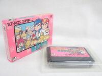 Famicom KUNIO KUN NEKKETSU MONOGATARI Nintendo No ccn Japan Game fc