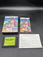 Sega Genesis Chuck Rock 2 Son Of Chuck Complete W/  Box Manual Reg Card See Pics