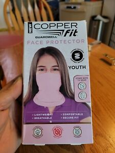 Copper Fit Guardwell Face Protector Pink Youth light weight