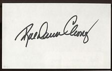 Rae Dawn Chong Signed Index Card Signature Vintage Autographed AUTO