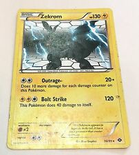 Zekrom Legendary Pokemon Card