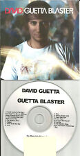 DAVID GUETTA Blaster RARE ADVNCE PROMO CD w/ STEREO MC's Paul Oakenfold USA 2007