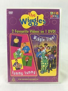 The Wiggles : Yummy Yummy & Wiggle Time - ABC For Kids - DVD - Region 4