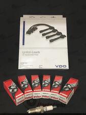 Holden Commodore VTII VX VY VU 3.8L V6 DENSO Spark Plugs + VDO Ignition Leads