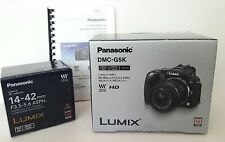 Panasonic LUMIX DMC-G5K 16.0 MP Digital Mirrorless Camera Black with 14-42 lens