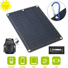 Portable Solar Power Charger Phones Panel Energy Storage Circuit Safe Efficient