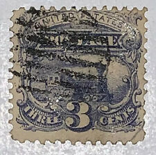 TRAVELSTAMPS:1869 US Stamps Scott # 114  Locomotive The Pictorials used NG