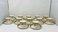WEDGWOOD INDIA***12 x Teacup & Saucer Fine bone china