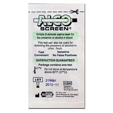 3 Alco-Screen Tests - Saliva Alcohol Test - AlcoScreen