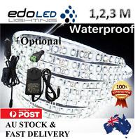 1M 2M 3M 600 LED Strip Lights Cool Warm Natural White 12V Waterproof Car Camping